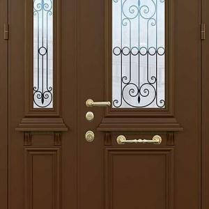 Двустворчатая дверь DR278